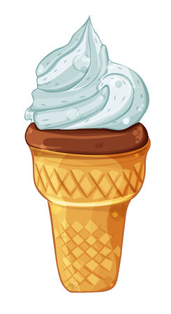 screwed: cartoon image of a glass with ice cream screwed into the funnel
