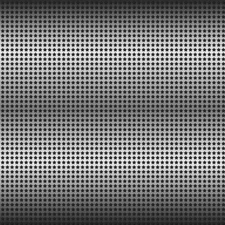 metal grid of stars Stock Vector - 25388898