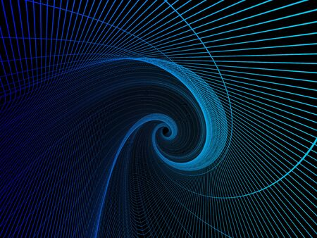 Geometric abstract technology and science background. 3D rendering 写真素材