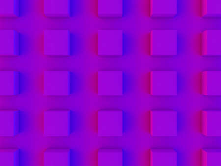 Abstract geometric background with shapes. 3D illustration