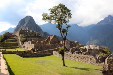 inca: The Inca city of Machu Picchu