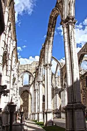 roofless: church carmo