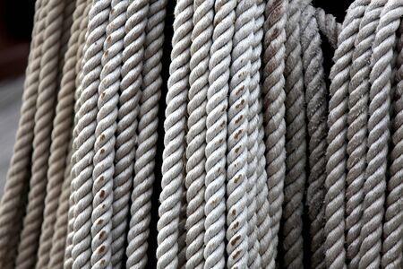caravelle: corde caravelle Banque d'images