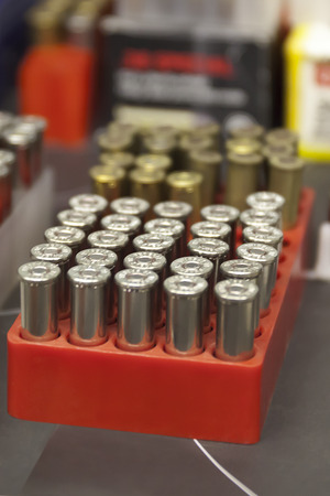 firearms: Box of cartridges for fire-arms