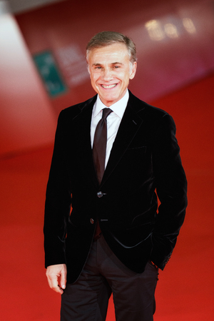 Rome, Italy. 26th Oct, 2017. Rome Cinema Fest 2017. Rome Film Festival. Red Carpet Christoph Waltz. Pictured: Christoph Waltz.  The Austrian actor Christoph Waltz on the red carpet at the 12th Rome Film Festival Walts was the protagonist of many successfu
