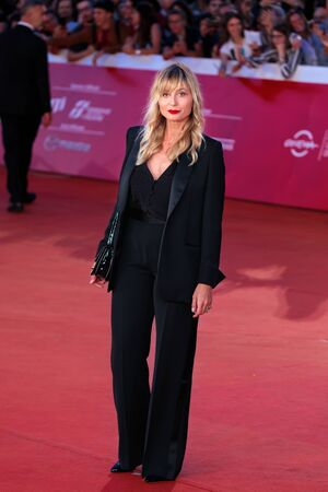 Rome Italy. 26 October 2019. Anna Ferzetti on the red carpet of the 14th Rome Film Festival, at the Auditorium Parco della Musica.