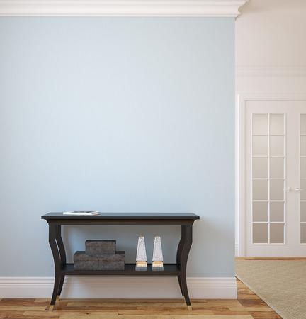 Modern hallway. 3d render. Reklamní fotografie