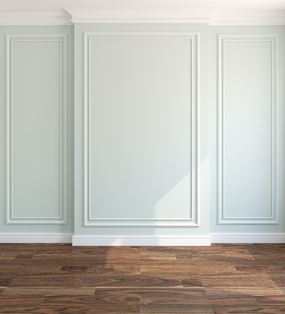 Interior of empty room. 3d render. Stockfoto