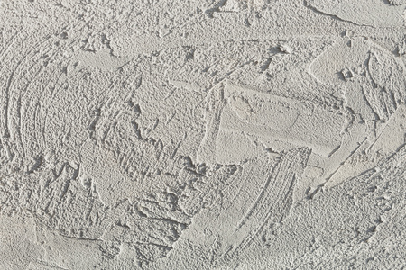 Texture of the gray wall. Decorative plaster