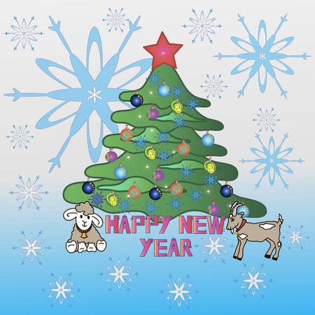 postcards: postcards happy new year