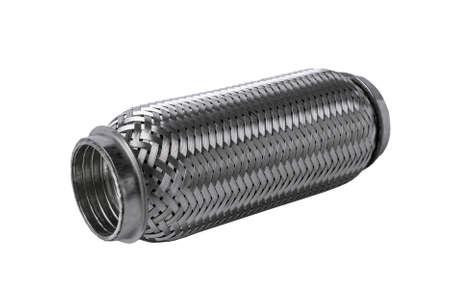 Stainless Steel Braided Flexible Exhaust Pipe Muffler for all car muffler corrugation. 版權商用圖片