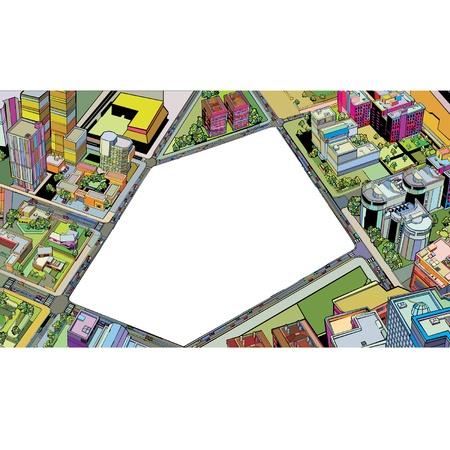 colorful building urban city