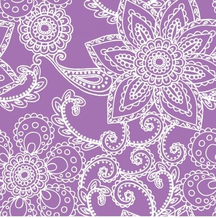 エレガンス シームレス パターンの花を持つ