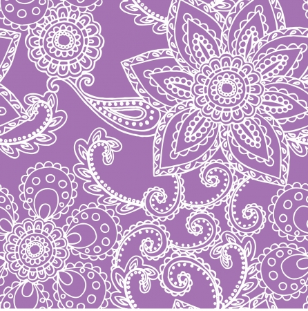 pastel colour: Elegance Seamless pattern with flowers