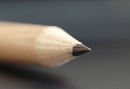 a pencil  with a simple  black color background Stock Photo - 2887851