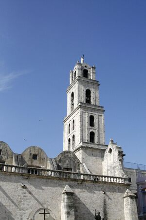 a Christian church at old Havana  in Cuba photo