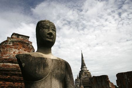orison: one  old city in Thailand at Asia Stock Photo