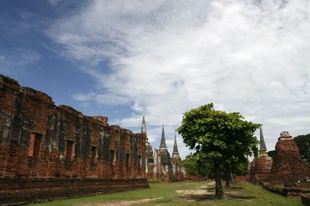orison: Ayutthaya the old capital city of Thailand