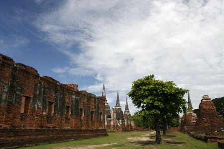 orison: Ayutthaya the old capital city of Thailand