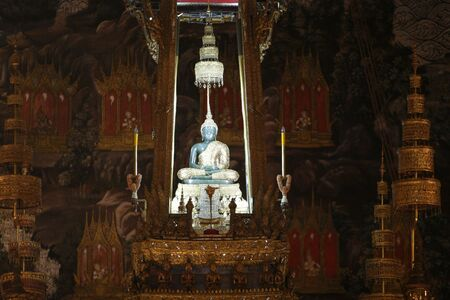orison: the famous emerald buddha in a temple