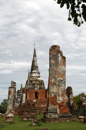 orison: a Wat in the old capital city of Thailand