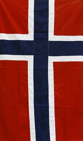 anthem: a simple frame with norway flag