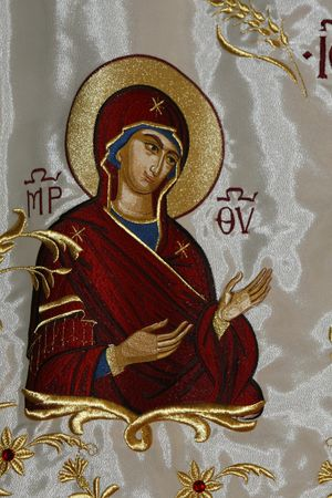 minster: a fabric icon with Madonna