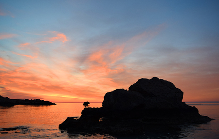 love pic: The magic of a beautiful sunrise! Konnos Bay is located at the Eastern edge of Ayia Napa where it meets the Protaras regions. It forms part of the Cape Greco national Park, an area of outstanding natural beauty.