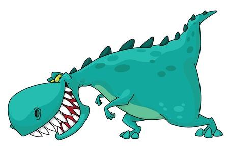 tiranosaurio rex: ilustración de un dinosaurio rex Vectores