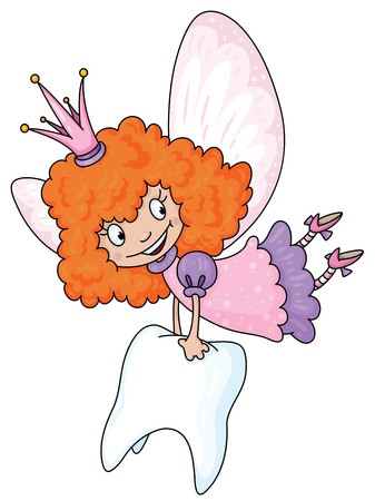 illustration of a tooth fairy Stock Vector - 11592526