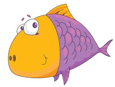 Illustration of a fish big