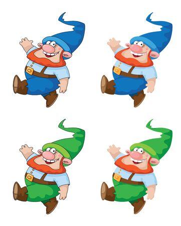 dwarf: ilustraci�n de un gnomo caminando. El archivo se ha cargado de nuevo con las correcciones.