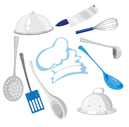 slotted: illustration of a kitchenware