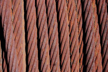 oxidated: oxidado bobina Foto de archivo