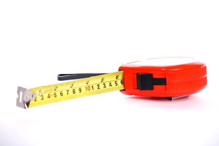millimetre: tape measure Stock Photo