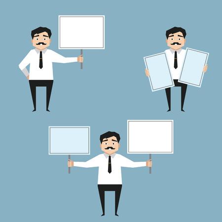 whiteboard: Man met whiteboard Bedrijfspresentatie