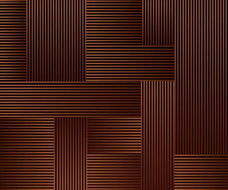 Industrial Rusty background of urban city in suprematism style, in brown and black colors