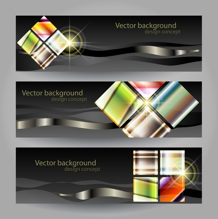 abstract vector background with a geometrical ornament