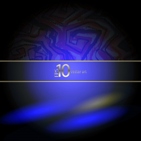 moire: abstract vector background with a geometrical ornament