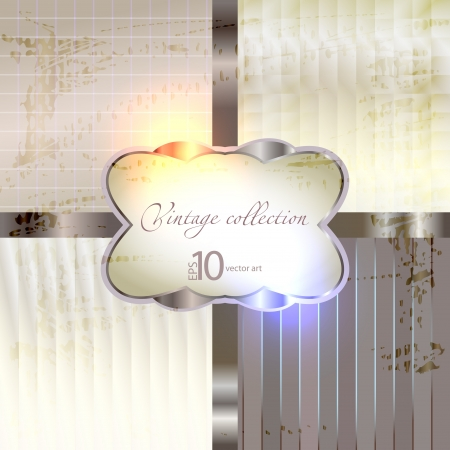 nacre: vector background with a vintage glossy and opaque texture Illustration