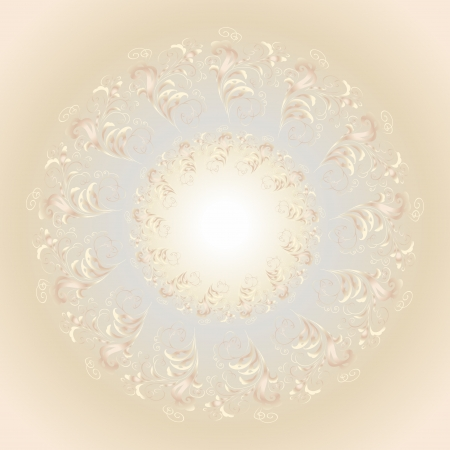lighting effects: abstract vector background with a geometrical ornament