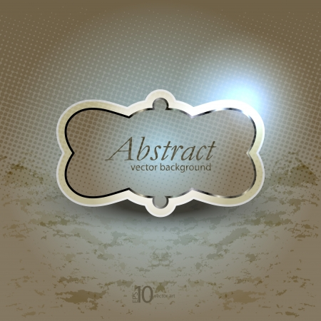 vector background with a vintage glossy and opaque texture Illustration