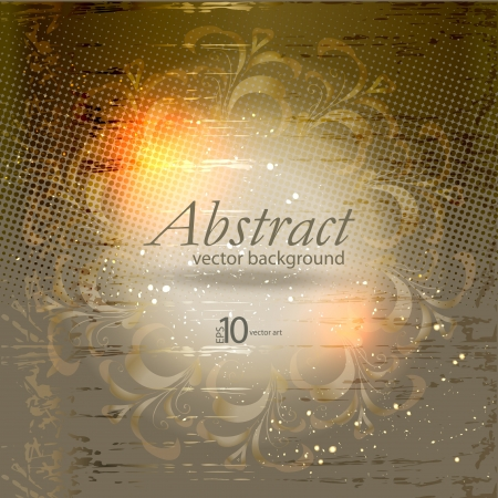 modulations: abstract vector background with a geometrical ornament