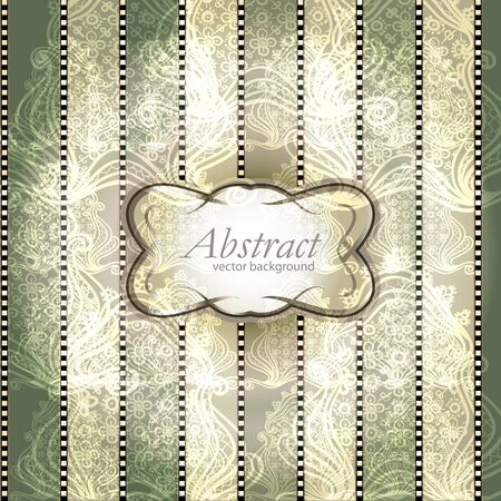 gray gradient reflection: abstract vintage elegant vector background with a textile ornament