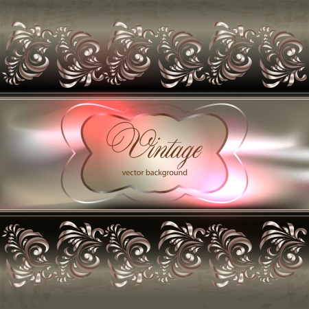 abstract vintage elegant background with a geometrical ornament