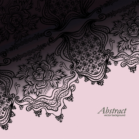 abstract vintage elegant  background with a textile ornament