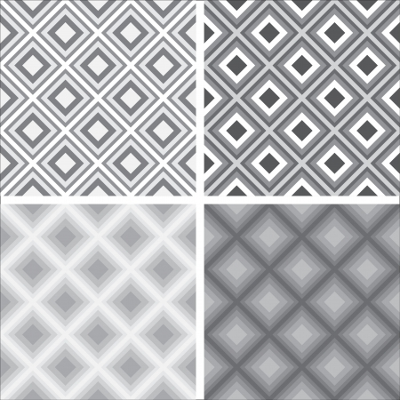 Geometric seamless patterns Stock Vector - 22208746