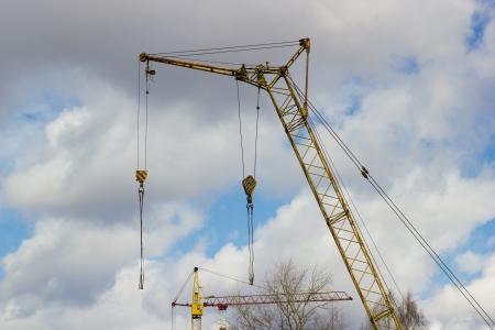 constrution: Constrution site Stock Photo