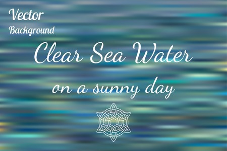 sea water: Sea water vector background