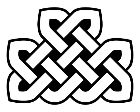 Celtic knot vector illustration